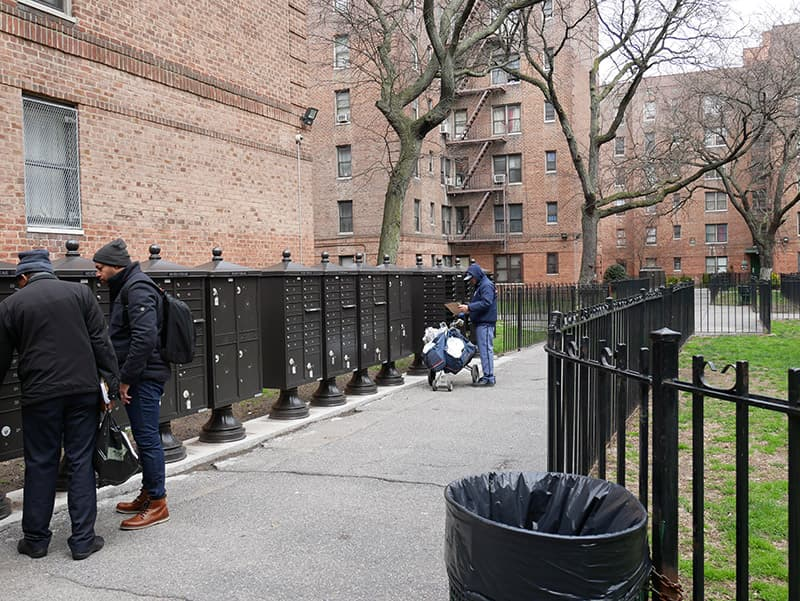 Carrier delivers to Flatbush Gardens