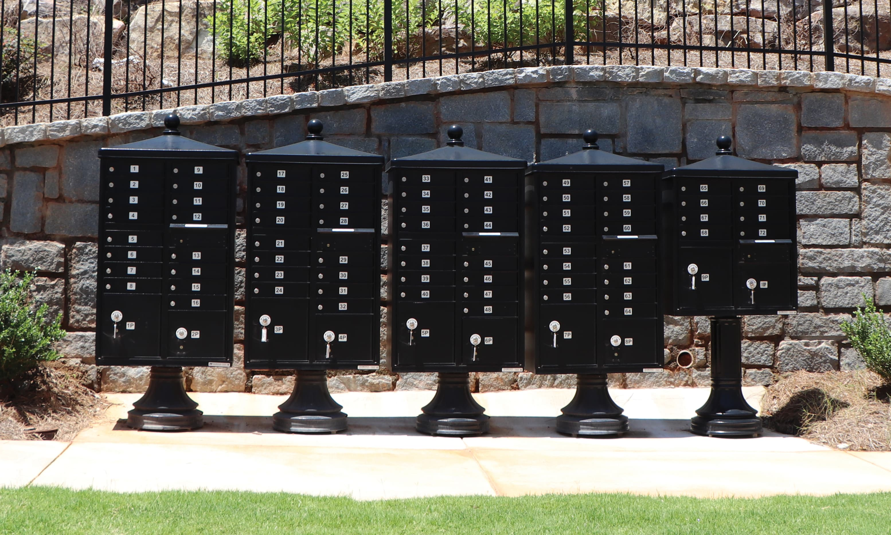 Cluster Box Unit Mailboxes