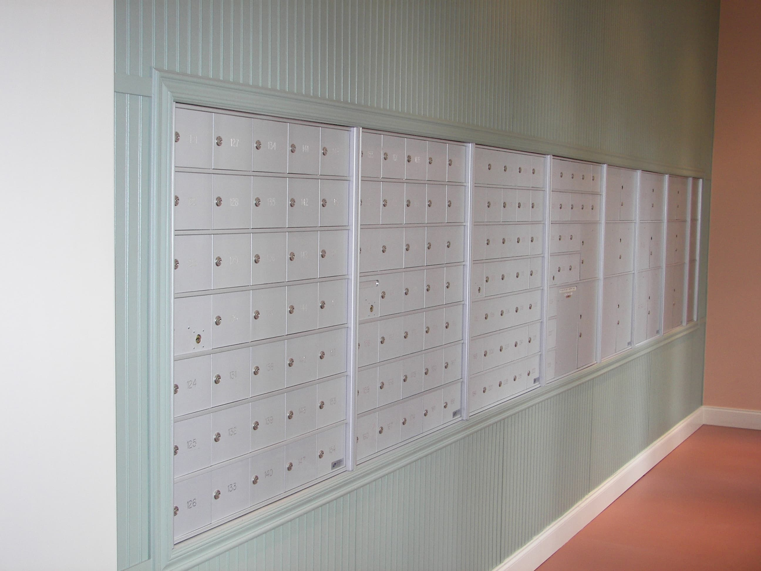repairing your old horizontal or vertical 4B+ mailboxes